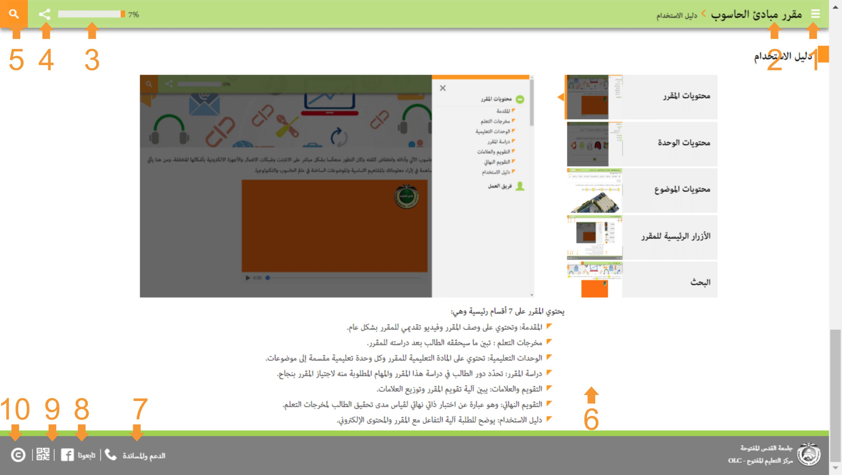 مبادئ الحاسوب pdf جامعة القدس المفتوحة